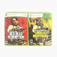 Red Dead Redemption with Undead Nightmare - Xbox 360 Double Pack
