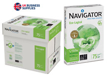 Navigator Universal White Copy Paper A4 75gsm 5 Reams 2500 Sheets