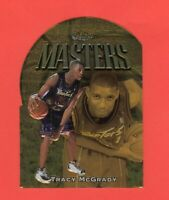 1997-98 Topps Finest Gold Embossed Die Cut Tracy McGrady RC  RARE !!!