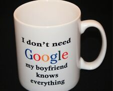 Personalised Mug, Birthday Gift, Google, Boyfriend,