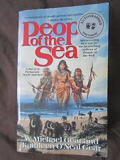 SIGNED by Authors: People of the Sea by W Michael Gear and Kathleen O'Neal Gear