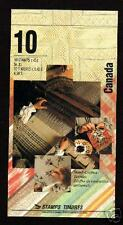 Canada BK159 (1465b) booklet - Textiles - open cover