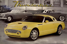 Thunderbird Post Card Dealer Factory Ford Dealership Concept Car OEM Sales Sheet