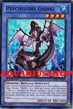 Yu-Gi-Oh! Psychelone Gishki HA07-IT056 Super Rara ITA Carta Fortissima     Zexal