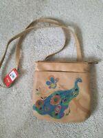 Relic Crossbody Peacock Purse Bag NWT
