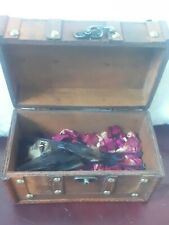 More details for hipposiderous diadema , leaf-nosed bat , taxidermy in wooden box
