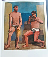 Pablo Picasso The Pan Flute Poster Offset Lithograph Unsigned 14x11
