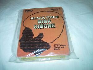 8-Track Tape NINA SIMONE Black Gold soul 1970 RCA pic slv