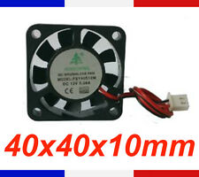 Ventilateur 12V 40x40X10 mm - fan brushless 40*40*10 mm dc 3d print cnc reprap