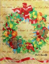 """Victorian Wreath Garden Flag  by Toland #1164,  11""""x14"""""""
