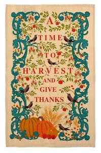 """Ulster Weavers, """"Harvest Time"""", Cotton tea towel. Printed in the UK."""