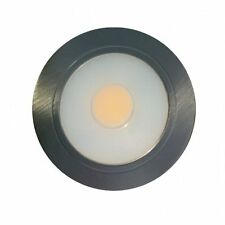 12v/3w cool white COB LED recessed downlight - Stainless Steel Finish
