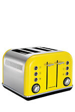 242025 Morphy Richards-Accents 2/4 Slice Toaster-Yellow