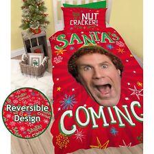 Buddy The ELF Santa Single Duvet Cover Set Christmas Festive - 2 in 1 Design