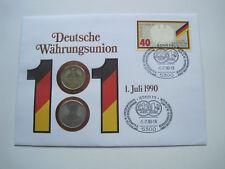Numisbrief Deutsche Währungsunion  #3778