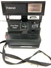 Polaroid One Step Flash Camera Tested And Works