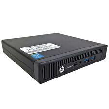HP EliteDesk 800 G1 mini i7-4785T QuadCore 2.2GHz 8GB 250GB SSD Win 10 Pro