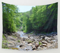 Wall Tapestry Wall Hanging Printed in USA Photo 50 landscape forest river woods