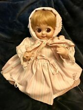 "Retro Vtg Googly Eye Kestner Doll Bisque 16"" Marked JDK 221 Ges Gesch Germany"