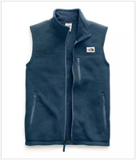 NWT The North Face GORDON LYONS VEST, shady blue heather, size XL