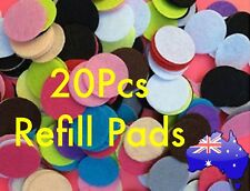20 Pcs Refill Pads for Aromatherapy Essential Oil Diffuser Locket Necklace
