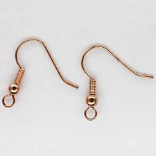 Earring French Hook Ball Coil Copper Pack of 200