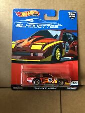 HOT WHEELS CAR CULTURE - Silhouettes '76 Chevy Monza 1/5 - Combined Postage