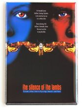 The Silence of the Lambs Fridge Magnet (2.5 x 3.5 inches) movie poster (style B)
