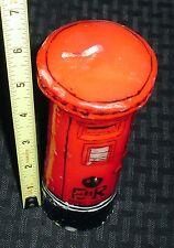 Vintage Postal Post Office Candle Unused *E/R* Red/Black 91115
