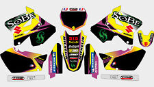SOBE SUZUKI RM 125 250 2001-2012 DECAL STICKER GRAPHIC KIT