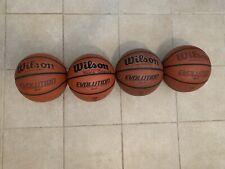 Lot Of 4 Wilson Evolution 28.5 Women Indoor Basketballs WTB0516 Sports
