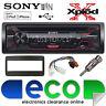 Toyota Rav4 00-06 Sony G1200U CD MP3 USB AuxIn Iphone Car Radio Stereo Kit