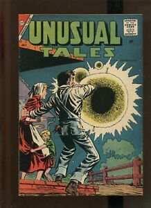 Unusual Tales #12 - Ditko Art Monster/Alien Cover - 1958 (Grade 7.0) WH