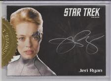 Jeri Ryan as Seven of Nine Autograph Card - Star Trek Voyage Heroes and Villains