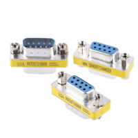 Db9 D-Sub 9Pin Connectors Mini Gender Changer Adapter Rs232 Serial Connect TC