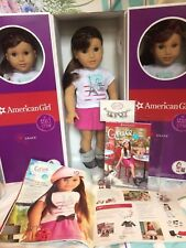 "American Girl GRACE THOMAS 18"" Doll of Year Book Bracelet + BONUS 2015 Catalog"