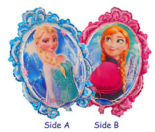Frozen Elsa Anna Double Side Party Foil Helium Balloon 65cm X 52cm