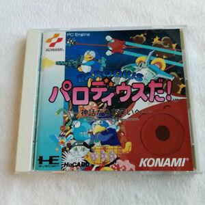 Parodius Da! Nec PC Engine Hucard Japan Ver. PCE Shmup Konami 1992