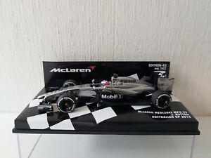 Minichamps 1/43 McLaren Mercedes Mp 4/29 J. Button - Australia 2014 - 530144322