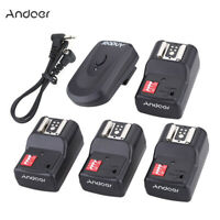 Andoer 16 Channel Wireless Remote Flash Trigger Set for Canon Nikon Sunpak A6W7