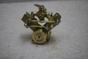 Twin Cylinder Marine Steam Engine Model Live Steam