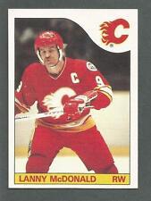 1985-86 Topps Hockey Lanny McDonald #1 Calgary Flames NM/MT