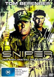 SNIPER - Rare DVD Aus Stock -Excellent