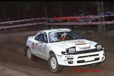 Marcus Gronholm Toyota Celica Turbo 4WD 1000 Lakes Rally 1993 Photograph 1