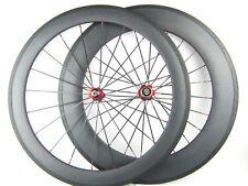 carbon 60mm+88mm clincher bike wheels road 700c road bike wheelset cycling hot!