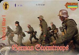 Strelets 1/72 WWI German Stormtroops # M055