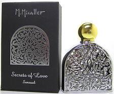 M. Micallef Sensual Secrets of Love 75 ml EDP Spray