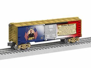 2012 6-39339 Theodore Roosevelt Boxcar made in The usa new in the