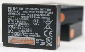 FUJIFILM NP-W126S Li-Ion Battery | Qty 3