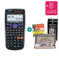 Casio fx 85 GT plus negro calculadora + geometrieset aprender CD garantía